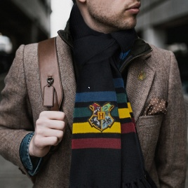 Harry Potter - Šál Rokfort