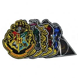 Harry Potter - sada nášiviek Deluxe