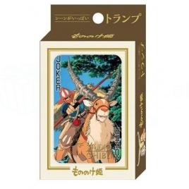 Princess Mononoke - hracie karty