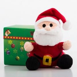 Vianočný plyšák - Santa