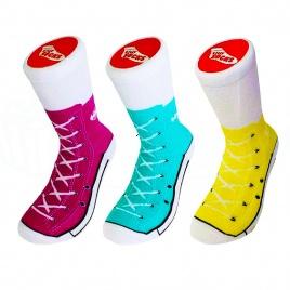 Sneakers ponožky - darčeková sada 3ks
