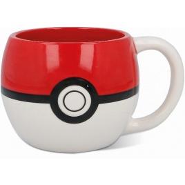 Pokémon - 3D hrnček Pokélopta