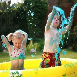 Kúpeľová želatína pre deti + bazén