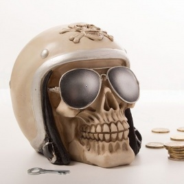 Sporkasa - Lebka motorkára