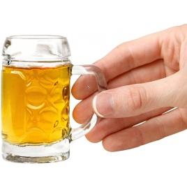 Pivné štamperlíky - sada 4 ks