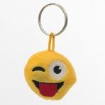 Emoji kľúčenka - žmurkajúci smajlík