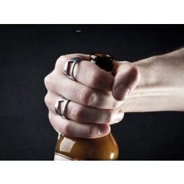 Otvárač fľiaš - prsteň 2 ks