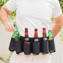 Pivný opasok s otváračom na fľaše