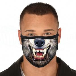 Rúško na tvár - Wolf