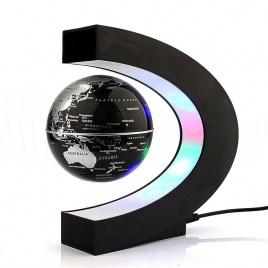 Levitujúci glóbus s LED osvetlením