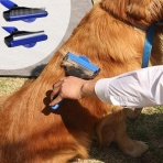 Hrebeň pre psíkov s otočnou hlavicou - veľkosť M