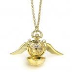 Harry Potter - náhrdelník - hodinky Zlatá Strela