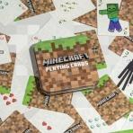 Minecraft - hracie karty