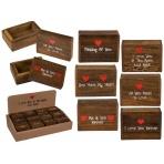 Dekoračná krabička - srdce
