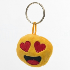 Emoji kľúčenka - láska