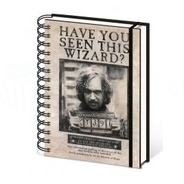 Harry Potter - poznámkový blok Sirius Black