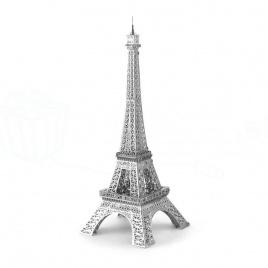 Kovové 3D puzzle (eiffelová veža)