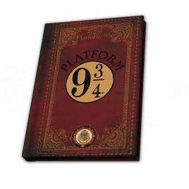 Harry Potter - blok Nástupište 9 a 3/4 - A6
