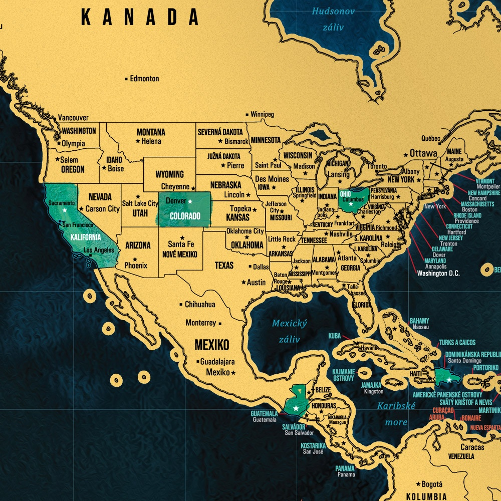 Slepa Mapa Statov Sveta