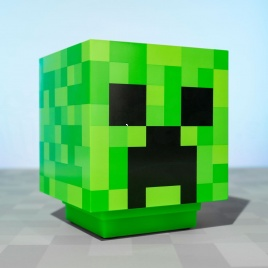 Minecraft - svetlo Creeper