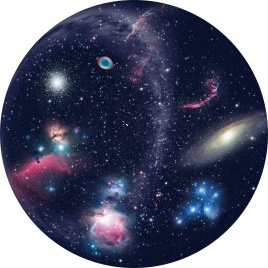 Kazeta pre Planetárium Homestar - Galaxie