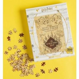 Harry Potter - puzzle - Záškodnícka mapa 500 dielikov