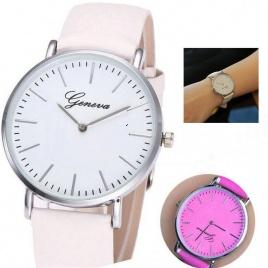 Farbumeniace hodinky - ružové