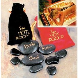 Kúpeľné kamene - čierne balenie