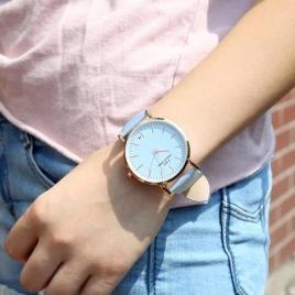 Farbumeniace hodinky - modré