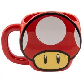 Super Mario - Hrnček hríbik