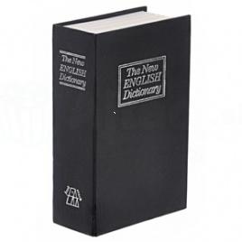 Kniha sejf - Čierna