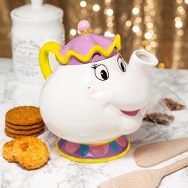 Kráska a Zviera - čajník Mrs Potts