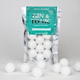 Kúpeľová bomba - Gin&Tonic
