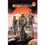 Mandalorian - plagát postáv (Group)