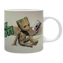 Strážcovia Galaxie - hrnček Groot v2