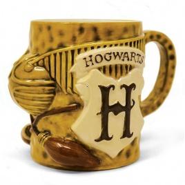 Harry Potter - 3D hrnček Metlobal