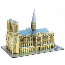 3D puzzle - Notre-Dame (Stredné)