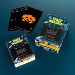 Space Invaders - hracie karty