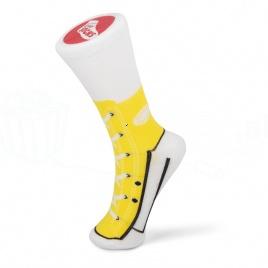 Sneakers ponožky - žlté