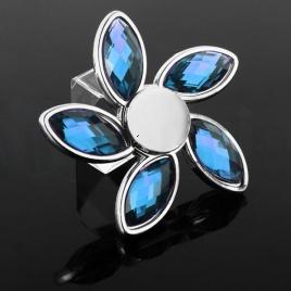 Fidget Spinner - Diamant modrý
