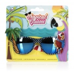 Tropické slnečné okuliare - Papagáje
