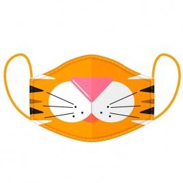 Rúško na tvár - Tiger L