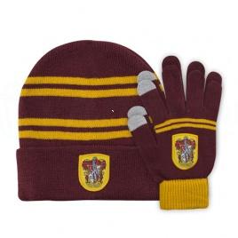 Harry Potter - Sada detská čiapka a rukavice Chrabromil