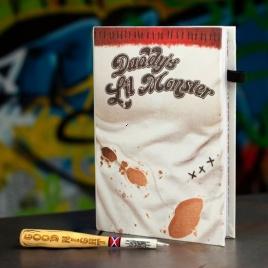 Harley Quinn - poznámkový blok s perom
