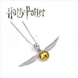Harry Potter - náhrdelník Zlatá strela DELUXE