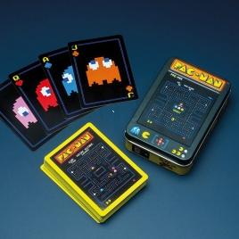 Pac Man hracie karty