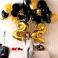 Balón XL čísla - zlatá