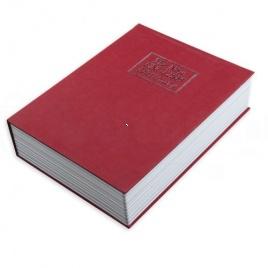 Kniha sejf - Červená