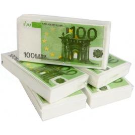 Plná Buxa - vreckovky euro 100€