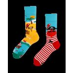 Veselé ponožky - Ostrov pirátov S